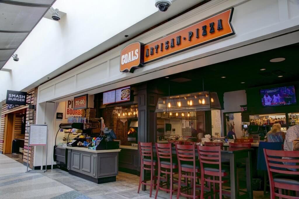 Coals Artisan Pizza at Louisville Muhammad Ali International Airport