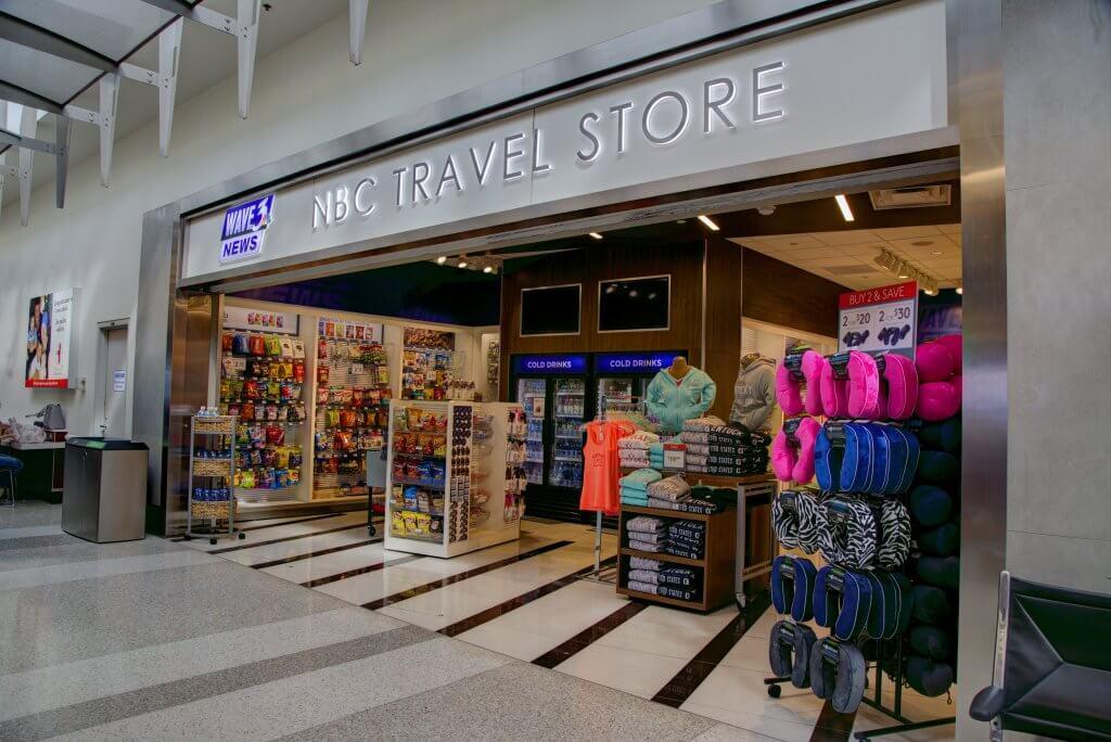 NBC Travel Store in Louisville Muhammad Ali International Airport